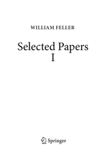 Schilling et al: Selected Papers of William Feller - vol 1