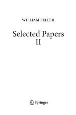 Schilling et al: Selected Papers of William Feller - vol 2
